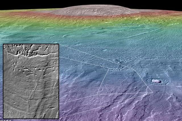 2.1亿年前火星或存在微生物