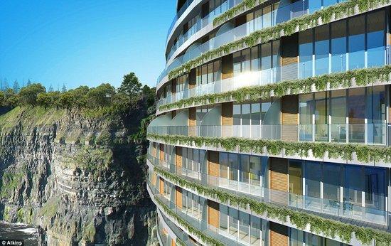 最新设计地下豪华宾馆 有水下餐厅和主题公园