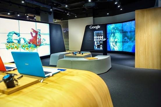 谷歌在伦敦开设全球第一家谷歌品牌店
