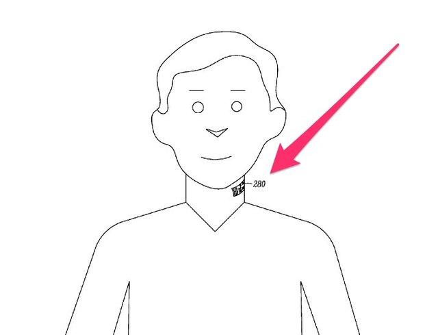 新专利申请表明谷歌正开发电子皮肤纹身