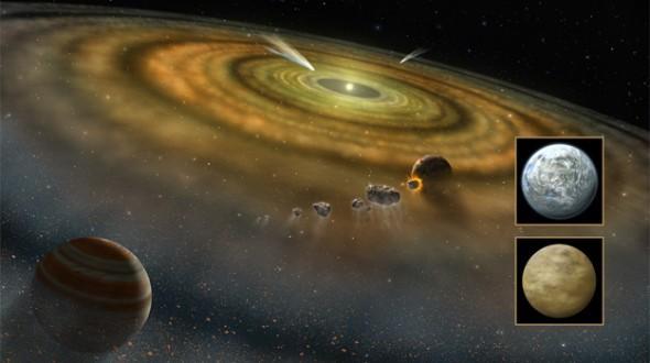 为什么一年有365天?答案可追溯到太阳系之初