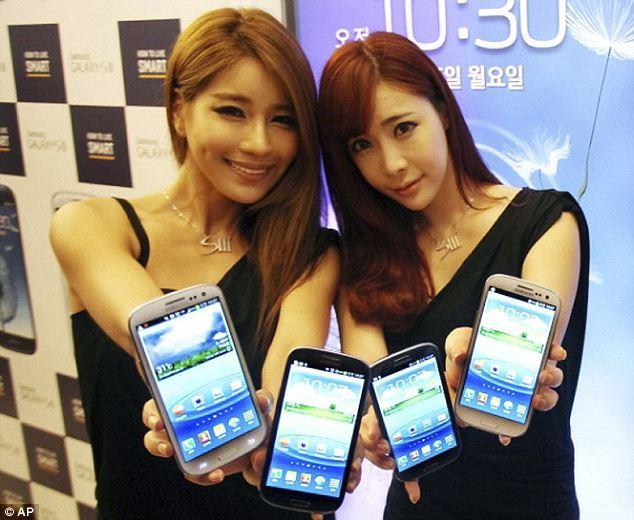 三星中国智能手机市场不敌苹果 沦为第三