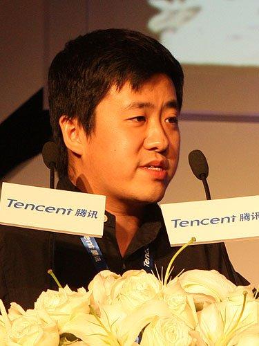 图文:腾讯开放平台部总经理林松涛致辞