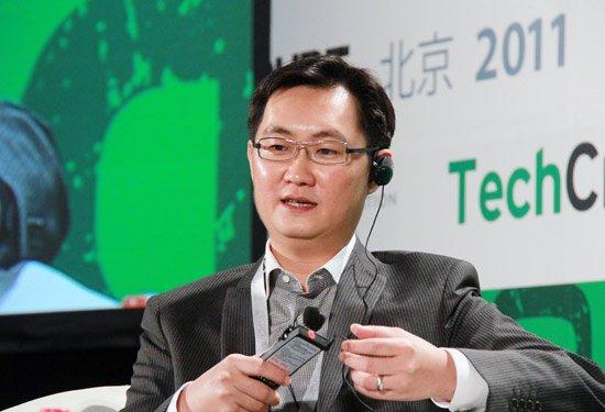 腾讯公司CEO马化腾-马化腾 腾讯希望和开发者有更深入合作模式