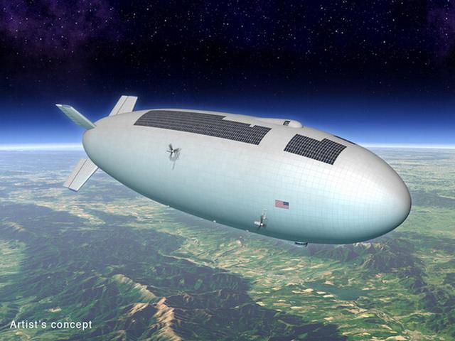 高科技飞艇将是美国宇航局下一个挑战项目
