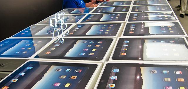 快递小哥一下子丢了47台iPad