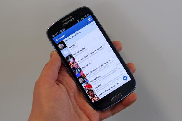 FB通讯应用Messenger月活跃用户达5亿