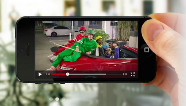 YouTube用户喜欢通过移动端看广告