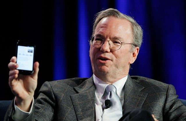 谷歌董事长施密特:明年人人都将有智能手机
