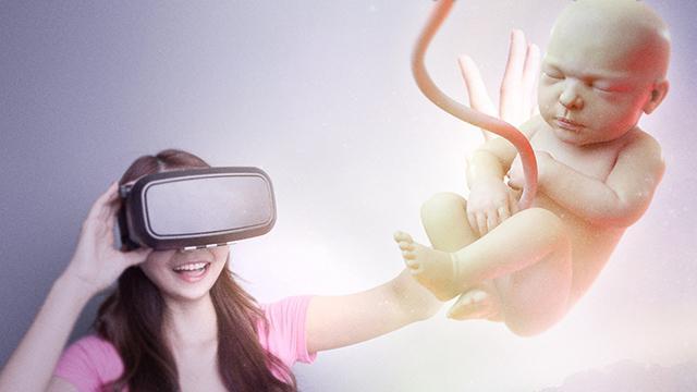 宝宝还没出生 准妈妈就能用VR看到孩子的模样