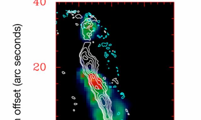 装在波音747上的望远镜观测到超热气引发恒星风暴