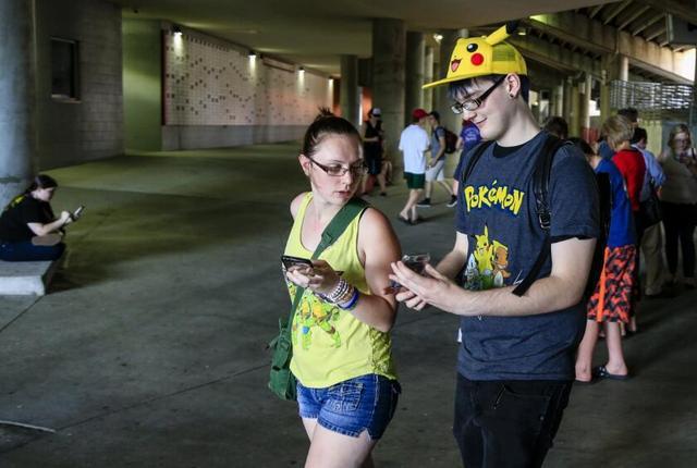 Pokémon Go游戏热让美国人活动量大增