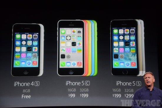 苹果发布会无惊喜:5c定价失败 5s创新乏力