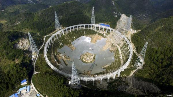 世界最大射电望远镜开始临时观测并产生数据