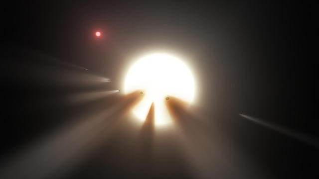 神秘恒星光度变化 现有科技难以解释