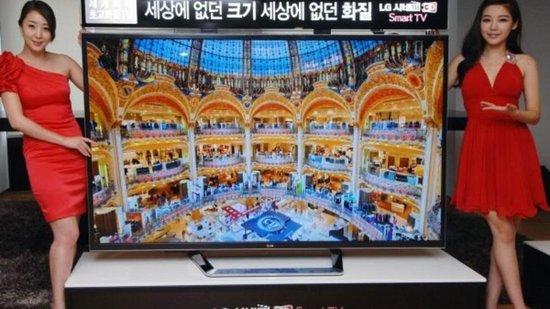 LG已在韩国售出300台84英寸4K电视机