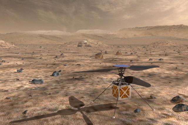 NASA研发火星直升机:探索面积成倍扩大