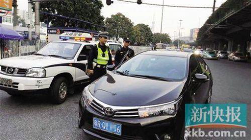 广州整顿非法网约车 新年首周查扣外地牌车过百宗