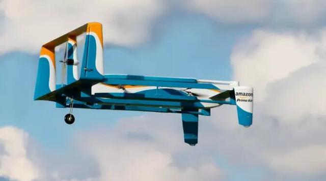 亚马逊完成首例商业投送 无人机快递业务正式起航