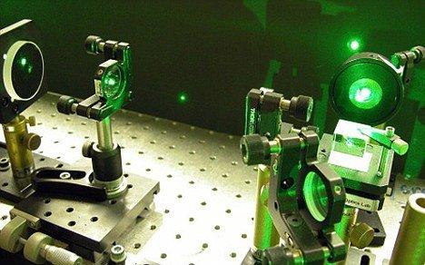 澳科学家发明牵引光束可利用激光移物(图)