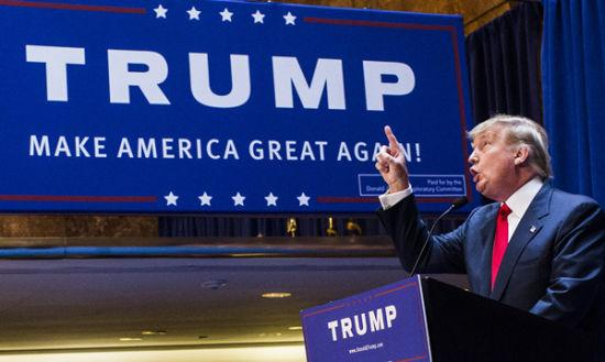黑客组织曝光美国总统候选人特朗普个人信息