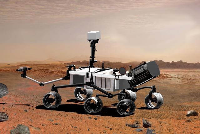 """解读NASA""""好奇号""""火星车:正在寻找火星生命"""