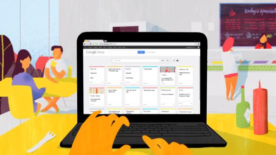 谷歌推出Google Keep笔记应用 支持跨设备同步