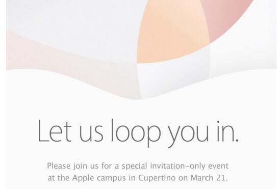 美国苹果公司发邀请函 3月21日召开发布会