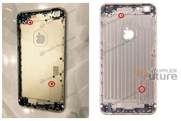 iPhone 6s Plus外殼曝光:再也掰不彎了!