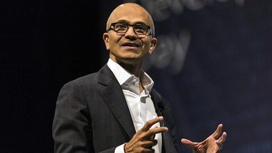 微软CEO纳德拉解释成功秘诀:不安守现状