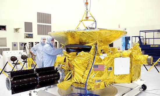 """首个造访冥王星的深空探测器""""新视野""""号"""