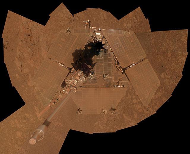 在火星上体验沙尘暴是什么感受?