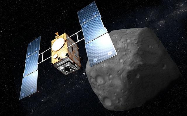 """日本""""隼鸟2号""""目标小行星命名为""""龙宫"""""""