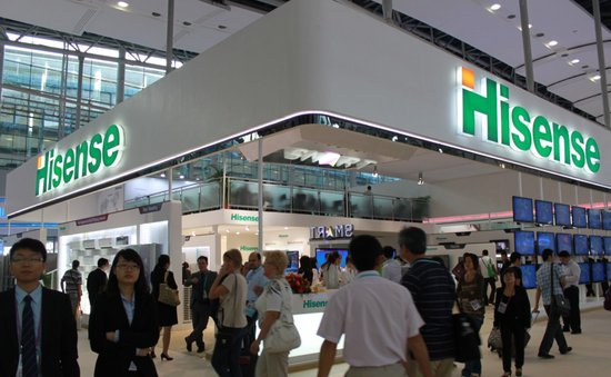 海信智能电视全球快速增长 单月出口超亿美金
