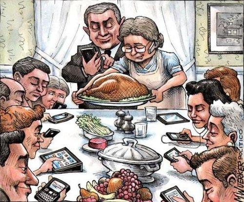 家庭聚餐儿孙全在玩手机 老人摔盘离席 - 长空雁叫 - 长空雁叫的博客