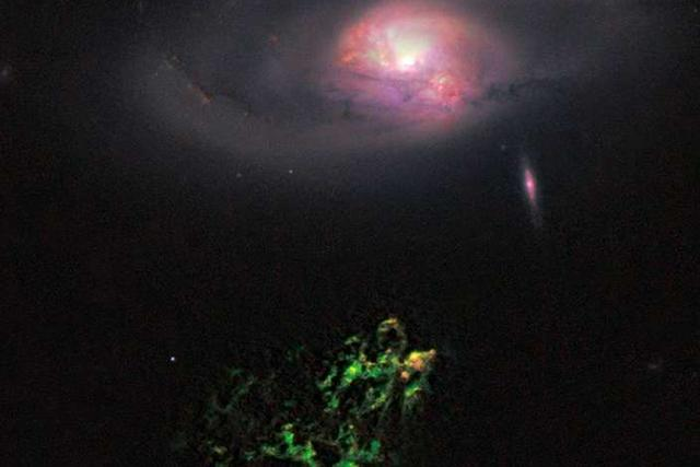 """黑洞其实是宇宙中""""最明亮""""的天体"""