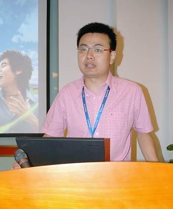 腾讯QQ空间助理总经理梁柱