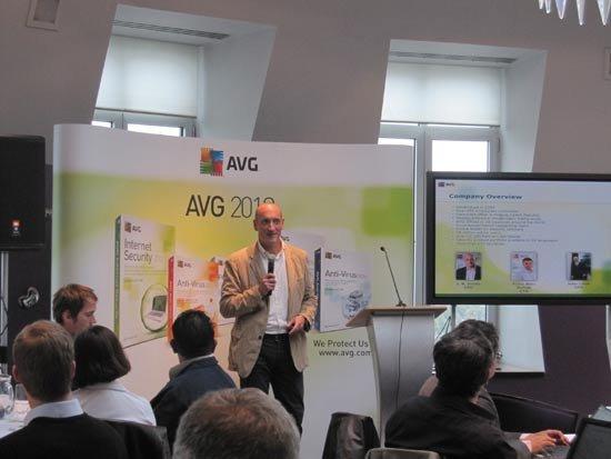 捷克杀毒商AVG推2012版新品 CEO看好中国市场