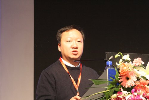 图文:优视科技副总裁陈石现场讲演