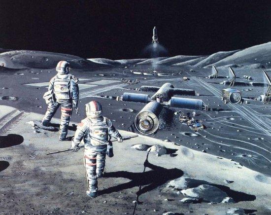 私企欲统治近地轨道和月球:2020年建基地