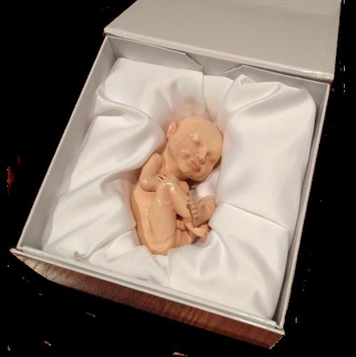 """腹中胎儿长啥样?美公司欲推3D""""打印""""胎儿服务"""
