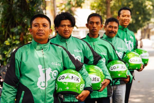印尼这家摩托车叫车应用都完成超5.5亿美元融资了