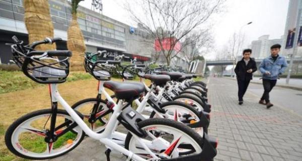 上海共享单车又新添成员:骑行中能给手机充电
