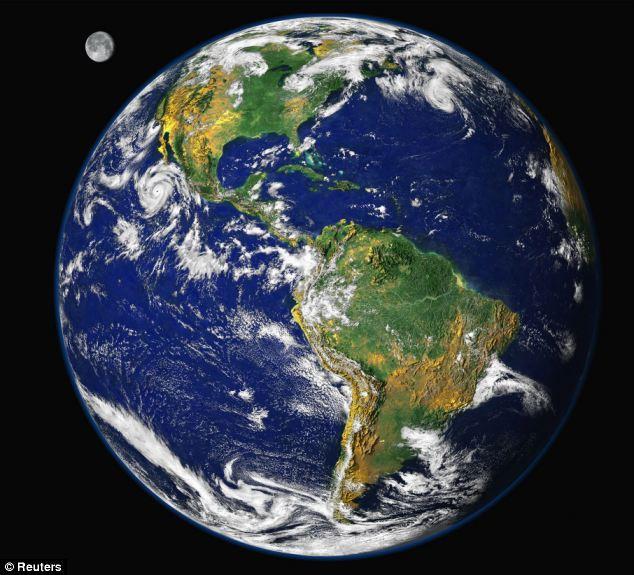 """美国地下643.7公里发现地球最大""""蓄水池"""""""