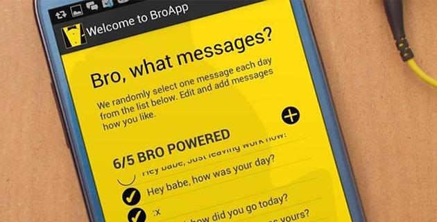 BroApp帮你自动向女友发送甜言蜜语