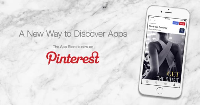 传苹果将同Pinterest合作推应用推荐服务