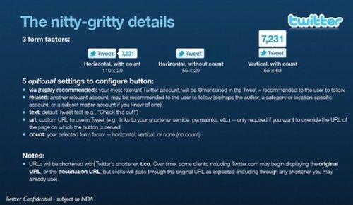 Twitter将推官方分享按钮:可直接转推(图)