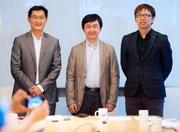 马化腾、张朝阳和王小川发布会现场采访实录