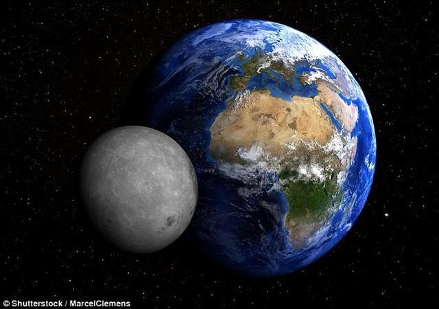 650亿年后月球将与地球碰撞地球变成熔岩球