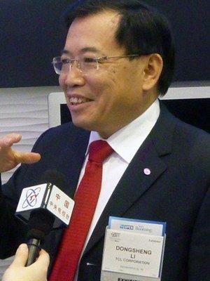 专访TCL李东生:2011年高端电视将全带3D功能